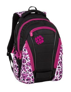 Bagmaster Bag 9 C Purple/white/black