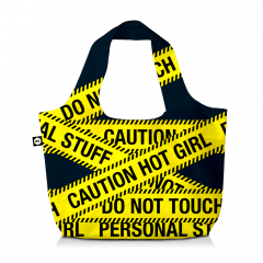 BG Berlin Eco Bag Caution