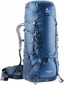 Deuter Aircontact 65 + 10 Midnight-navy