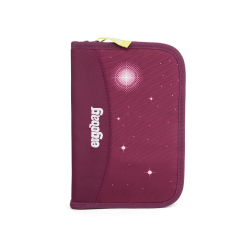 Ergobag Penál vybavený Galaxy fialový