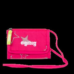 Ergobag Peněženka Růžová hvězda