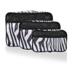 Heys Exotic Packing Cube Set Zebra – sada 3 ks