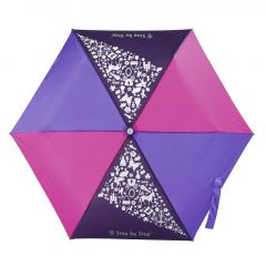 Dětský skládací deštník růžová/ fialová/ modrá