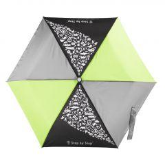 Dětský skládací deštník černá/ šedá/ zelená