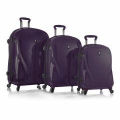 Heys xcase 2G S,M,L Ultra Violet – sada 3 kufrů
