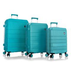 sada skořepinových kufrů Heys Neo S,M,L Aqua