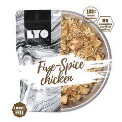 LYOfood Kuře pěti chutí s rýží běžná porce