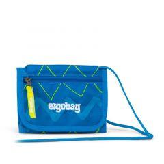 Ergobag Peněženka Modrá Zig Zag 2019