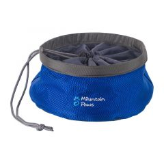 Mountain Paws Dog Food Bowl 170 mm blue small