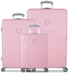 SUITSUIT TR-1231/3 sada 3 kufrů ABS Caretta Pink Lady