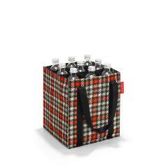 Reisenthel Bottlebag Glencheck Red