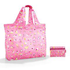 Reisenthel Mini Maxi Beachbag Abc Friends Pink