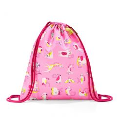 Reisenthel Mysac Kids Abc friends pink