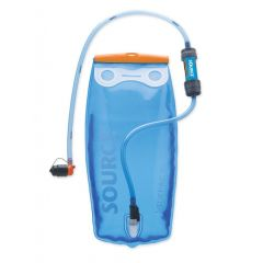 Source Widepac filter hydration system 2L Transparent-Blue