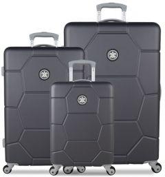 SUITSUIT TR-1226/3 sada 3 kufrů ABS Caretta Cool Gray