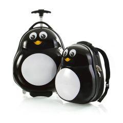 Heys Travel Tots Penguin – sada batohu a kufru