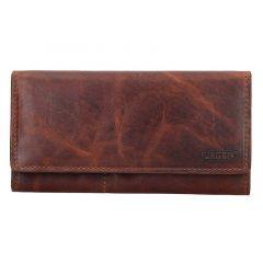 Lagen Dámská peněženka kožená V-102/M Hnědá