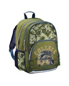 Hama Školní batoh pro prvňáčky Army