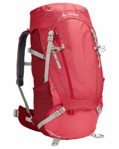 Vaude Women's Asymmetric 48+8 Indian red