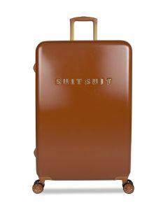 SUITSUIT Fab Seventies Cestovní kufr L Leather Brown
