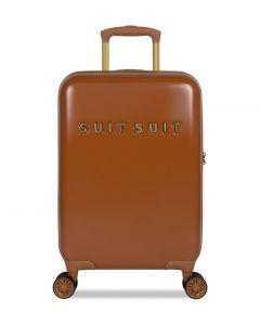 SUITSUIT Fab Seventies Kabinové zavazadlo S Leather Brown