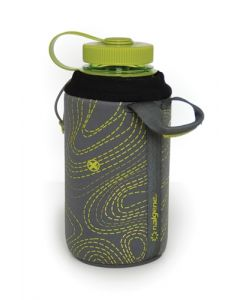 Nalgene Bottle Clothing Classic Neoprene Green/gray