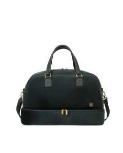 Titan Barbara Velvet Weekender Forest Green
