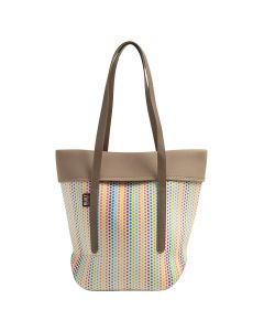 Built City Neoprene Tote Candy Dot