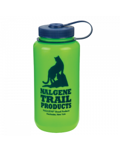 Nalgene Wide Mouth 1 l Green/ Cat Logo
