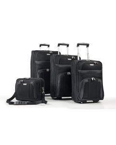 Travelite Orlando S,M,L – sada 3 kufrů + Boarding Bag