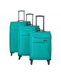 Travelite Solaris 4w S,M,L – sada 3 kufrů + BB