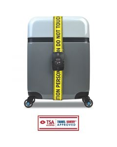 BG Berlin Luggage Belt TSA Caution