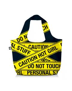 BG Berlin Eco Bag Caution