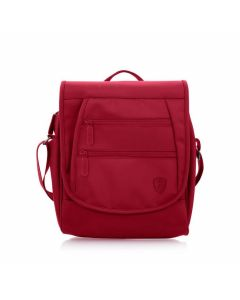 Heys HiLite RFID Crossbody Messenger Red