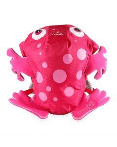 LittleLife Animal Kids SwimPak Pink Frog