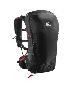 Salomon Peak 30 Black/ Bright red