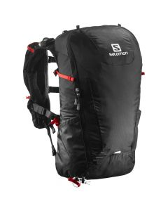 Salomon Peak 20 Black/ Bright red