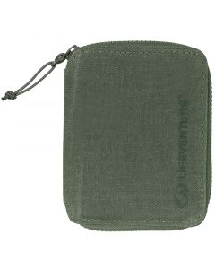 Lifeventure RFiD Bi-Fold Wallet Olive