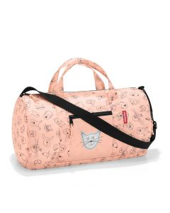 Reisenthel Mini Maxi Dufflebag Kids Cats and dogs rose