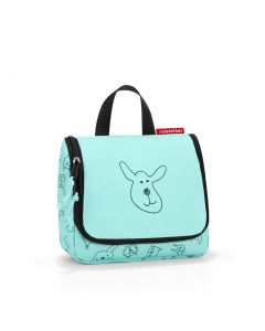Reisenthel Toiletbag S Kids Cats and dogs mint