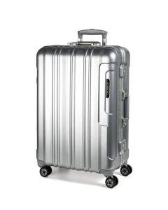 March Cosmopolitan Platinum S,M,L – sada 3 kufrů Silver brushed
