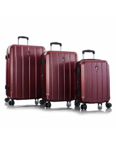 Heys Para-Lite S,M,L Red – sada 3 kufrů