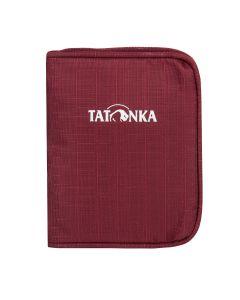 Tatonka Zipped Money Box Bordeaux red