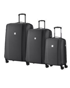 Titan Xenon Deluxe S,M,L Graphite – sada 3 kufrů