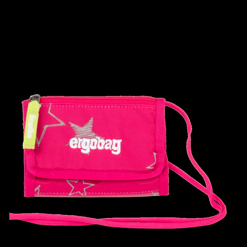 Ergobag Peněženka Růžová hvězda Ergobag