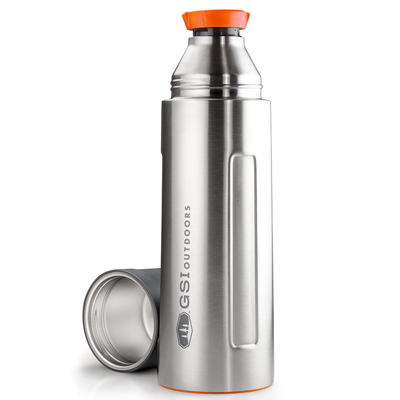 E-shop GSI Outdoors Glacier Stainless Vacuum Bottle 1l stainless