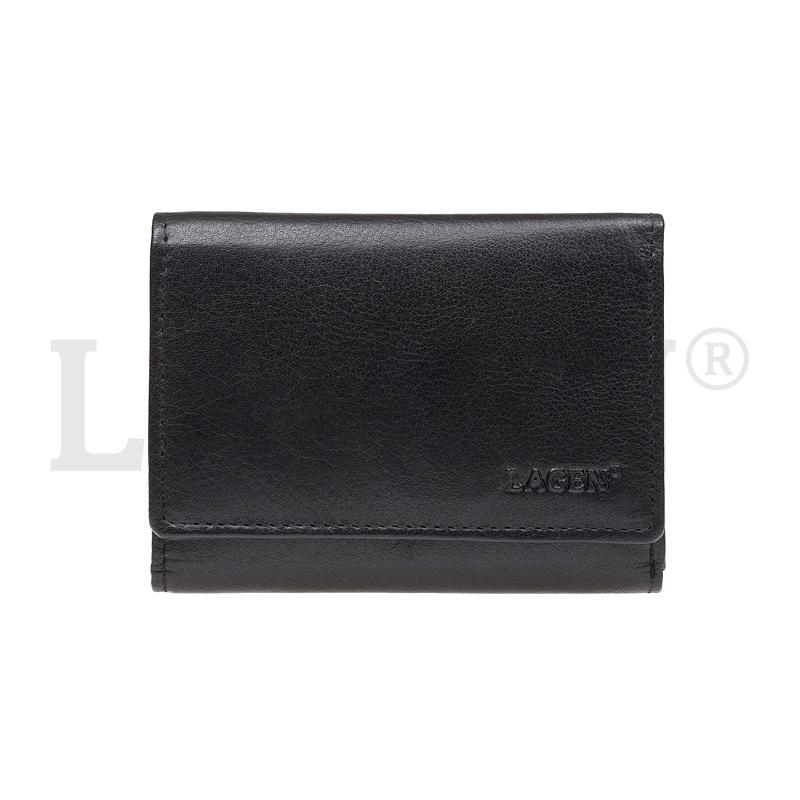Lagen Dámská peněženka kožená LM 2520 Černá