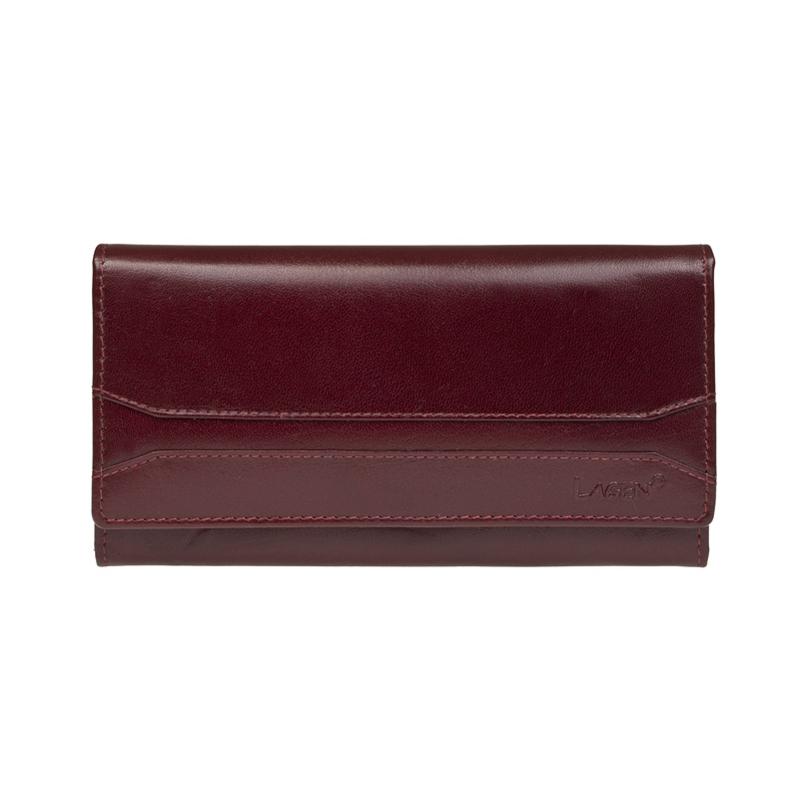 Lagen Dámská peněženka kožená W-2025/B Červená