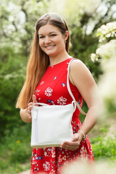 Monarchy Everyday Shoulder bag Holly White