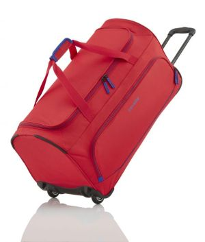 Travelite Basics Fresh Wheeled Duffle Red
